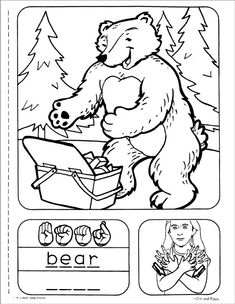 coloring pages for the deaf - photo#22