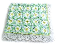 Daisy blanket on Russian site. LOVE THIS