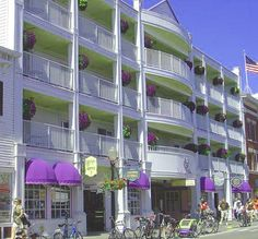 Lilac Tree Hotel, Mackinac island.
