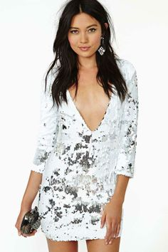 Vanna Sequin Dress