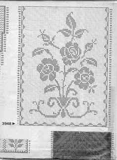 Gallery.ru / Фото #35 - Filet Crochet pour Point de Croix 2 - Mongia