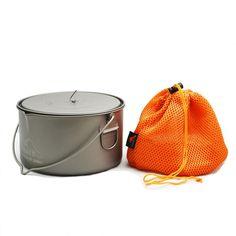 Der Toaks Titan Topf 2000 ml POT 2000 BH ist mit seinen 2 l Volumen für die 2 Personen Küche, wie auch für den Familienurlaub bestens geeignet. Wer mit mehreren Leuten unterwegs ist oder seine Kochausrüstung teilt, wird sich...