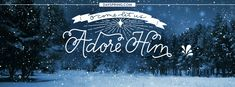 Come let us adore Him. Facebook Cover Photo Template, Free Facebook Cover Photos, Timeline Cover Photos, Facebook Photos, Facebook Christmas Cover Photos, Winter Facebook Covers, Photo Christmas Tree, Merry Christmas, Christmas Images