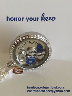 Police Wife, Mom, Sister, Daughter? Honor your hero! Police or Sheriff's Deputy  Jewelry. Shop online: click on the pic to order