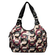 $61.99 Coach Fashion Poppy Signature Medium Black Multi Shoulder Bags ENH hot sale,fast shipping!! #COACH Fashion Designers,Fashion Designer Handbags Outlet,Coach Handbags - factory outlet