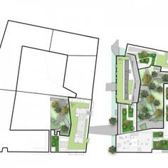 Docks de Saint-Ouen ZAC, Landscape development by Atelier 2/3/4/ « Landscape Architecture Works | Landezine