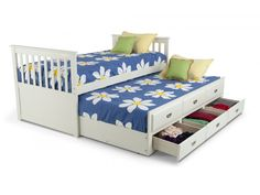 Chadwick Twin Captain Bed With Trundle   Kids Beds & Headboards   Kids…