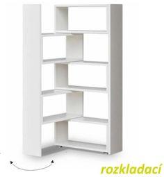 Vásárlás: Többfunkciós polcrendszer, DTD laminált, fehér, KLOE II - trendibutor - 37 900 Ft Könyvespolc, könyvszekrény árak összehasonlítása, Többfunkciós polcrendszer DTD laminált fehér KLOE II trendibutor 37 900 Ft boltok