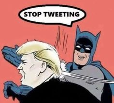 Stop Tweeting | My Parents Are Dead / Batman Slapping Robin | Know Your Meme