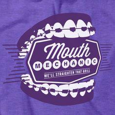 """Mouth Mechanic"" shirt"