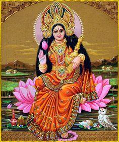Lakshmi is also an important deity in Jainism and found in Jain temples Lakshmi hindu art Lakshmi wealth Lakshmi goddesses Lakshmi haram Lakshmi tanjore painting Lakshmi vaddanam Lakshmi bangle Lakshmi decoration Lakshmi necklace Shri Hanuman, Durga Maa, Radhe Krishna, Divine Mother, Mother Goddess, Sun Art, Goddess Lakshmi, Gif Pictures, Gods And Goddesses