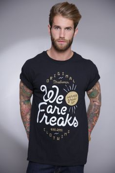 Image of WE ARE FREAKS T-SHIRT BLACK 1f9f5f91ff