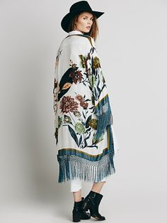 Free People Dreaming in Floral Kimono at Free People Clothing Boutique