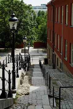 Stockholm - a path in Södermalm