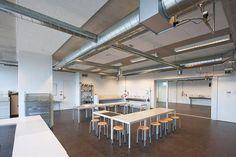 Rockfon Facett, Facett Lux - akoestische plafond, rechtstreeks op bouwkundige constructie, Icoon-Amersfoort