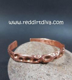 Copper Canyon Cuff #1 by Red Dirt Diva