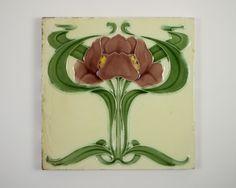 Antique 1900s English Art Nouveau lily by SimonCurtisAntiques