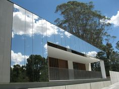 Mt Annan Plantbank Utilising Fairview Architectural's Vitrabond Mirror Finish Stainless Steel as the facade.