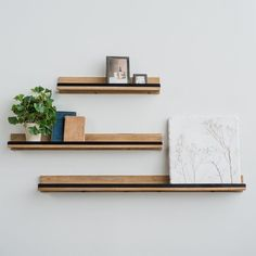 Personalize your living space by incorporating family photos and your favorite framed artwork with our Sienna Wood & Metal Shelf. This industrial-style shelf features a wood ledge and a black metal rim to keep artwork secure. Available in three sizes. Wall Plant Holder, Plant Wall, Plant Holders, Industrial Metal Shelving, Wood And Metal Shelves, Industrial Style, Black Metal Shelf, Magnolia Homes, Magnolia Market