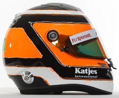 F1 Helmet 2012 Nico Hulkenberg(Sahara Force India F1 Team)