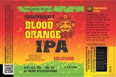 mybeerbuzz.com - Bringing Good Beers & Good People Together...: Tommyknocker - Blood Orange IPA 12oz Cans