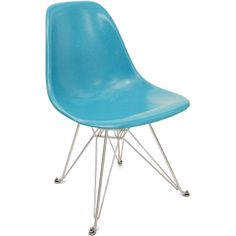 Eiffel Base - Fiberglass Shell Side Chair