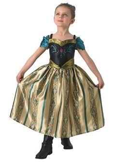 Kostium dziecięcy ANNA z koronacji 5-7 lat