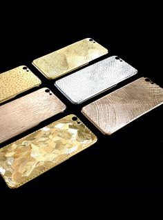 LA MELA COVER LUXURY SKIN IPHONE 6 CASE 18 KT GOLD PLATED  HANDMADE IN ITALY  www.lamelacover.com