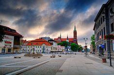 Bialystok, Poland. Main square.