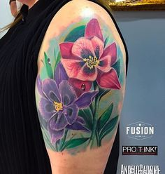 : @angelocadonitattooer Finality cover up flower Sardinia used  @fusion_ink  @bishoprotary  @pro_t_ink  @truetubes  @stencilanchored . #fusionink #fusionfamily #fusionink_ca #fusiontattooink #bishoprotary #bishopbrigade #protink #truetubes #stencilanchored #ink #color #tattoo #artist #protink #sponsored #tattoolifemagazine #tattooitaliamagazine #sullen #sulleartcollective #tattoofresh #coverup