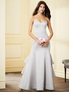 Alfred Angelo Long Bridesmaid Dress 7292L