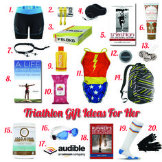 Triathlon Gift Ideas For Her -- I need that Wonder Woman swimming suit!