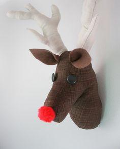 Deer Head Pattern (or Rudolph)
