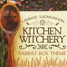 Discover the theme for the 2017 Lammas - Lughnasadh Sabbat Box: Kitchen Witchery. The Lammas Sabbat Box will be filled with useful items for the Kitchen Witch. Magick Spells, Wiccan, Wicca Witchcraft, She's A Witch, Kitchen Witchery, Hedge Witch, Season Of The Witch, Sabbats, Beltane