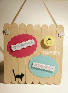 It's MY ROOM! - hang it on door / zawieszka na drzwi   More: * www.facebook.com/themqps.art *