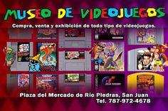 Compra venta y exhibición de #videojuegos en Museo de Videojuegos en #riopiedras #puertorico  #gaming #gamers @museo_de_videojuegos