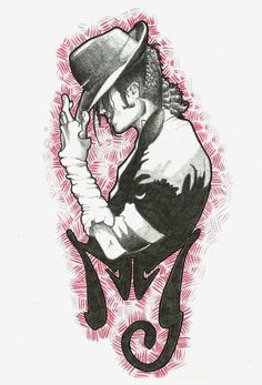 MJ tattoo by FieryGabreilla.deviantart.com on @deviantART - I think I just found my tattoo :)