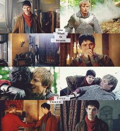 ...Anyone else agree Merlin should start wearing purple shirts again? He looked good in purple...