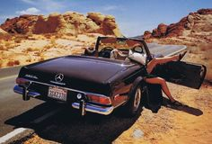 Vintage mercedes - Brides, how would you like this for a getaway car? ;)))