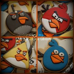 Angry Birds! @Courtney C  you need these for B's b-day!