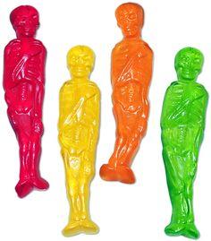 Gummy skeletons