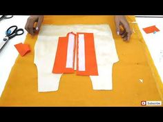 HOW TO MAKE PERFECT PLACKET /EASY METHOD/button front placket - YouTube