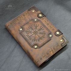 Leather cover for notebook by Armadillo Leather Gifts, Leather Craft, Leather Wallet, Leather Handbags, Leather Bound Journal, Leather Bound Books, Leather Sketchbook, Leather Diary, Cool Books