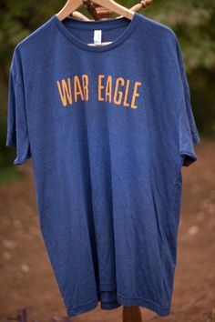 "Men's Auburn ""War Eagle"" Vintage Tee. $34.95, via Etsy."