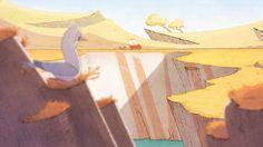 PESTE ET CROUTON.  De Marion BULOT, Eve CECCARELLI, Jeanne-Sylvette GIRAUD, Sophie MARKATATOS, Laurent MOING, étudiants de la formation Concepteur et réalisateur de films d'animation à GOBELINS, l'école de l'image.