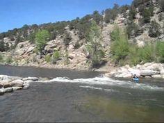 Arkansas River in Buena Vista, Colorado. 5/8/12
