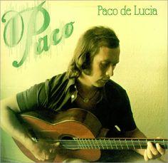 Paco de Lucia... Spanish flamenco guitar----PARA SISSI Y LUCIA PALMA ....una foto de papa que descubro en una pagina en USA....aqui estaba seguramente soltero todavia....se caso con mama en el 1977---como veis estaba del carajo de pelo y era un bellezon.....una sor`presa investigando en conciertos de musica  de guitarra española (RAVEL,FALLA,RODRIGO....