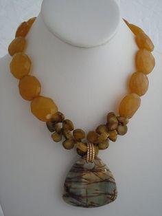 Gorgeous necklace by Rae Ann Bayless, Rae Ann Creations