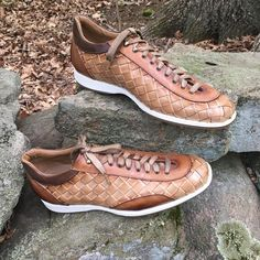 Woven sport shoes by Stefano Branchini, also an MTO...  #mensfashion #beauty #awesome #branchinishoesitaly #wingtip #fashion #sportshoes #branchini #awesome