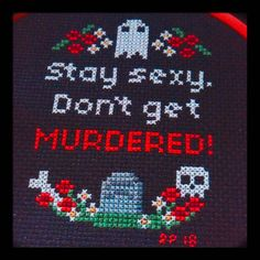 For @auntie_steve #ssdgm #crossstitch